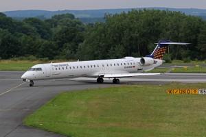 CRJ 900 der Eurowings (Foto: Fyn Kobelt)