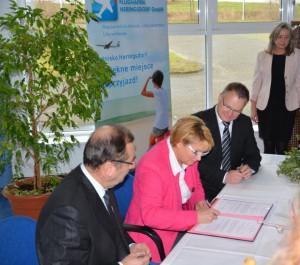 Unterzeichnung der Deutsch-Polnischen Vereinbarung