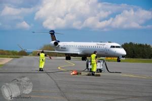 die erste Maschine, eine CRJ900