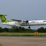 Dash8 Q400 der Air Baltic